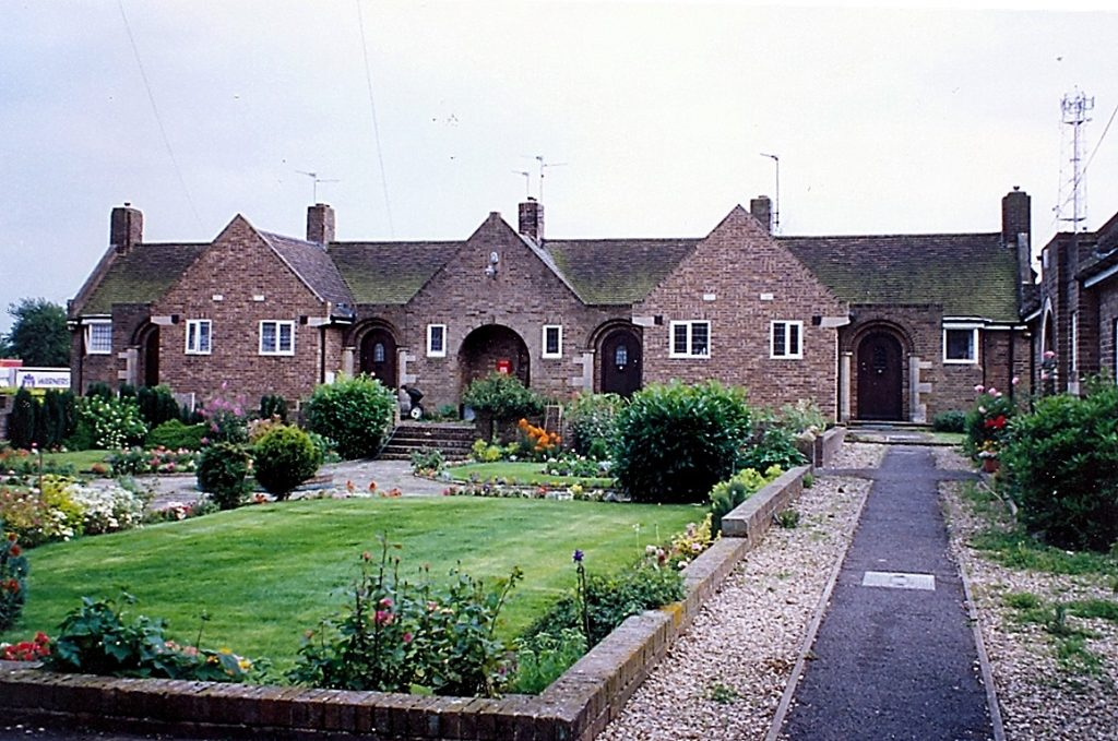 The West Street almshouses built in 1931