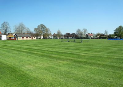 Abbey lawn cricket field