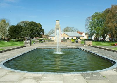 Wellhead War Memorial Fountain