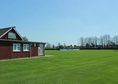 Abbey lawn clubhouse and cricket field