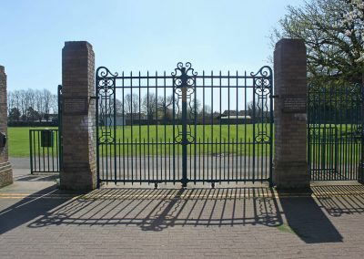 Abbey Lawn Entrance Gates