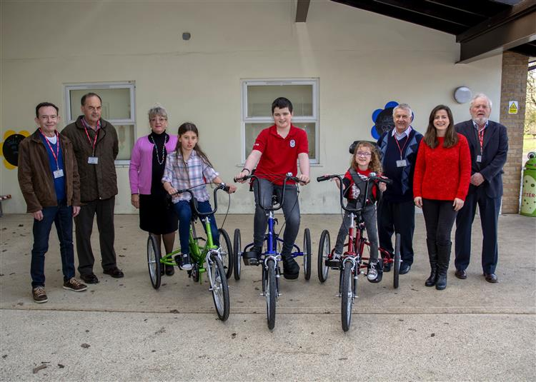 Trikes make play for all at The Willoughby School in Bourne